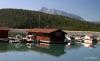 Lake Minnewanka dock