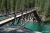 Bridge over Cascade River, Stewart Canyon