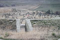 Artwork,   Little Bighorn Battlefield National Monument