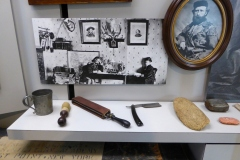 Custer memorabilia, Museum, Little Bighorn Battlefield National Monument
