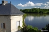 Loire River and Chateau De Montsoreau, Loire Valley