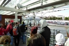 Boarding The London Eye