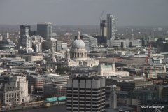 Views from the London Eye (St Paul's)