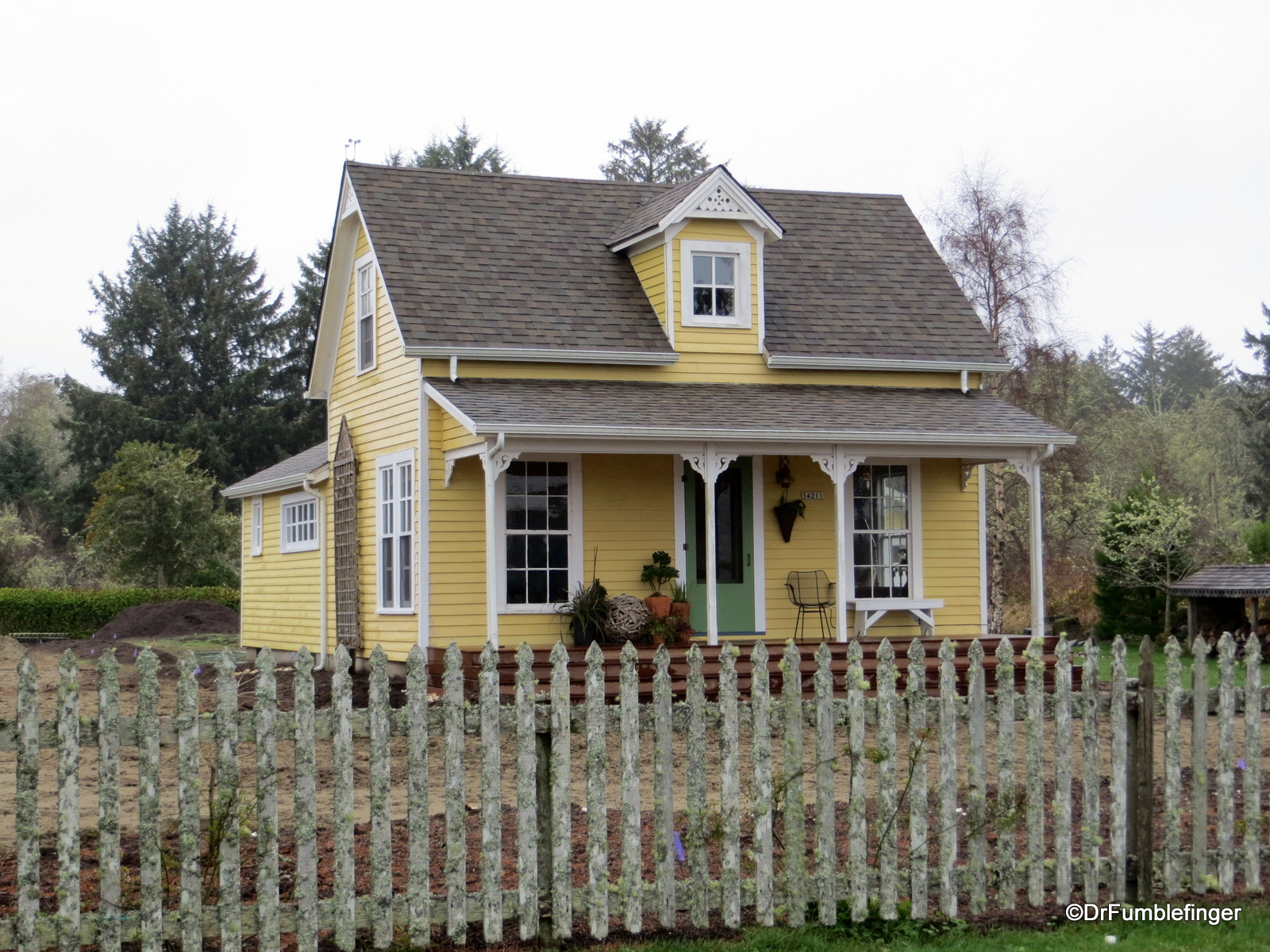 Oysterville Historic home