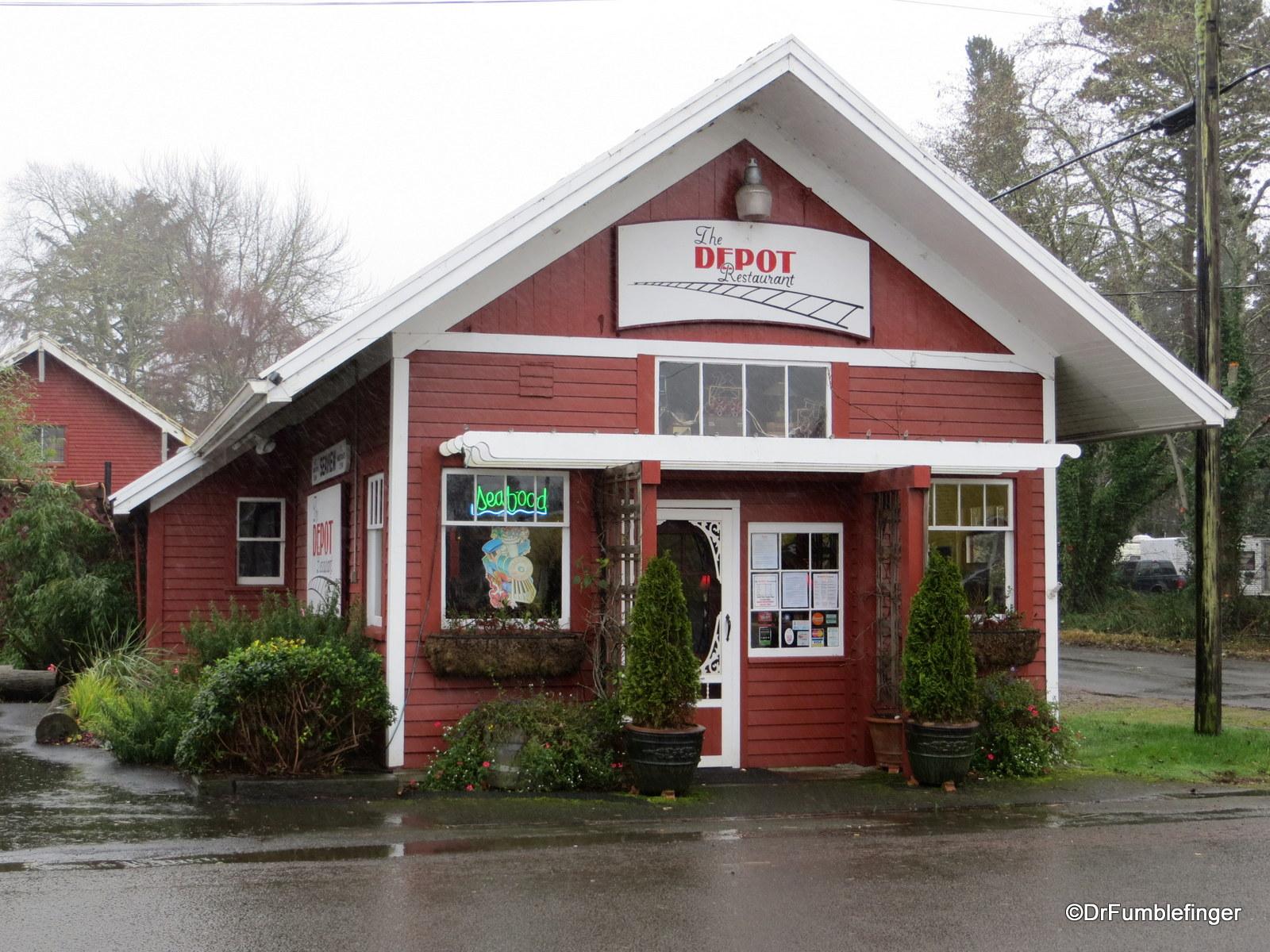 Depot Restaurant, Seaview, Washington