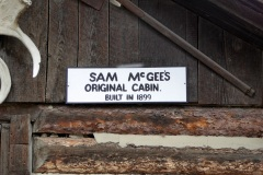 Sam McGee's Cabin, MacBride Museum, Whitehorse