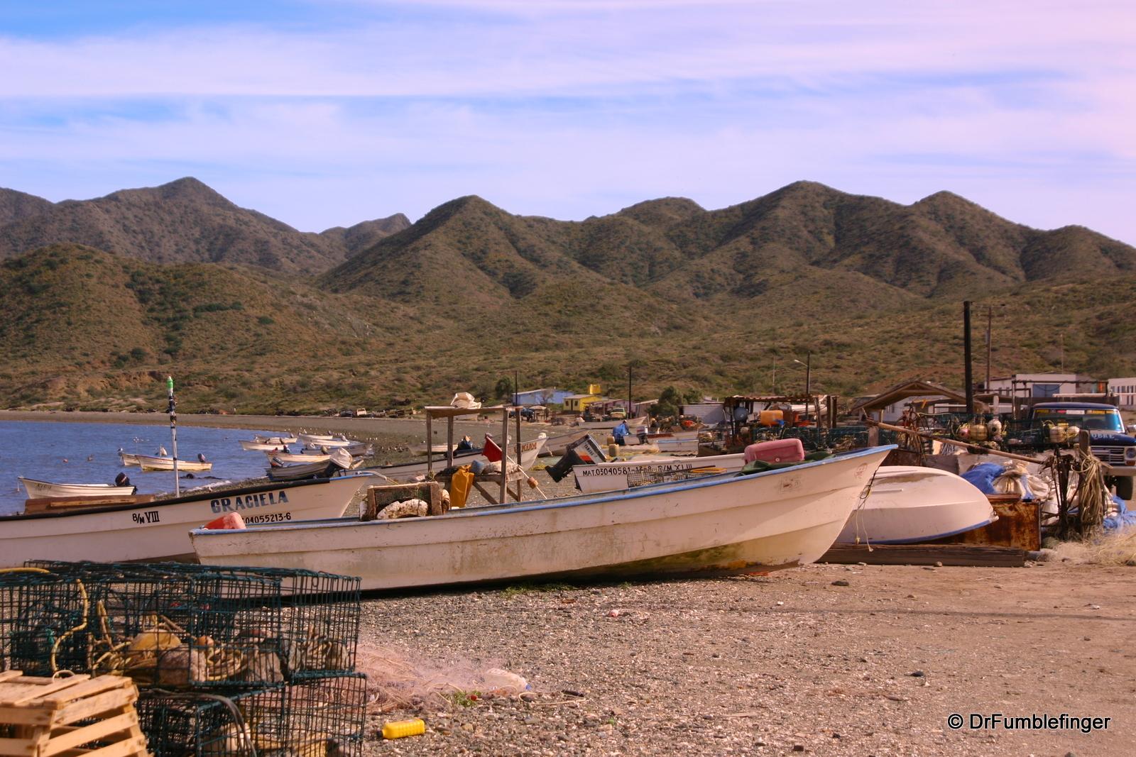 Fishing village of Puerto Magdalena