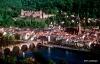 Dusk over Heidelberg, Germany