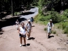 Going on a hike in Mariposa Grove, Yosemite National Park
