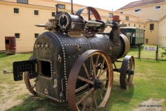 Steam engine, Maritime and Prison Museum, Ushuaia