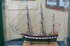 Model of the Beagle, Maritime and Prison Museum, Ushuaia