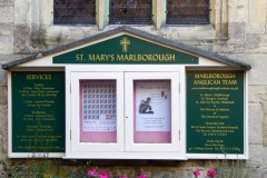 St. Mary's Church,, Marlborough