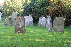 Cemetery at St. Mary's Church,, Marlborough