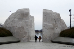 Entry to Martin Luther King Jr Memorial, Washington D.C.