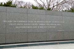 Martin Luther King Jr Memorial, Washington D.C.