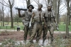 The Three Soldiers, statue at Vietnam War Memorial, Washington D.C.