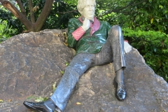 Statue of Oscar Wilde, Merrion Square, Dublin