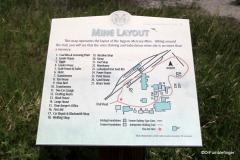 Signage, Midland Provincial Park, Alberta