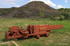 Coal-cutter, Midland Provincial Park, Alberta