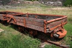 Coal-cart, Midland Provincial Park, Alberta