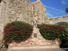Mission San Juan Capistrano.  Father Serra statue