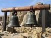Mission San Juan Capistrano.  Old bells of church