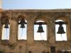 Mission San Juan Capistrano.  Bell Wall