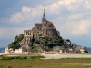 Mont-St-Michel viewed from dam, afternoon