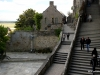 Approaching the entrance to abbey, Mont-St-Michel
