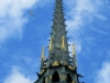 Mont-St-Michel, spire and angel statue