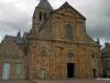 South facing facade of church, Mont-St-Michel