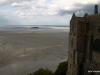 Views of bay from terrace, low tide