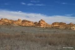 Kansas badlands