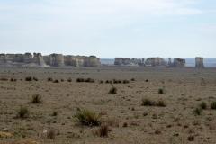 First views of Monument Rocks, Kansas
