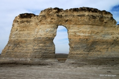 Window, Monument Rocks, Kansas
