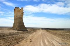 Road to Monument Rocks, Kansas