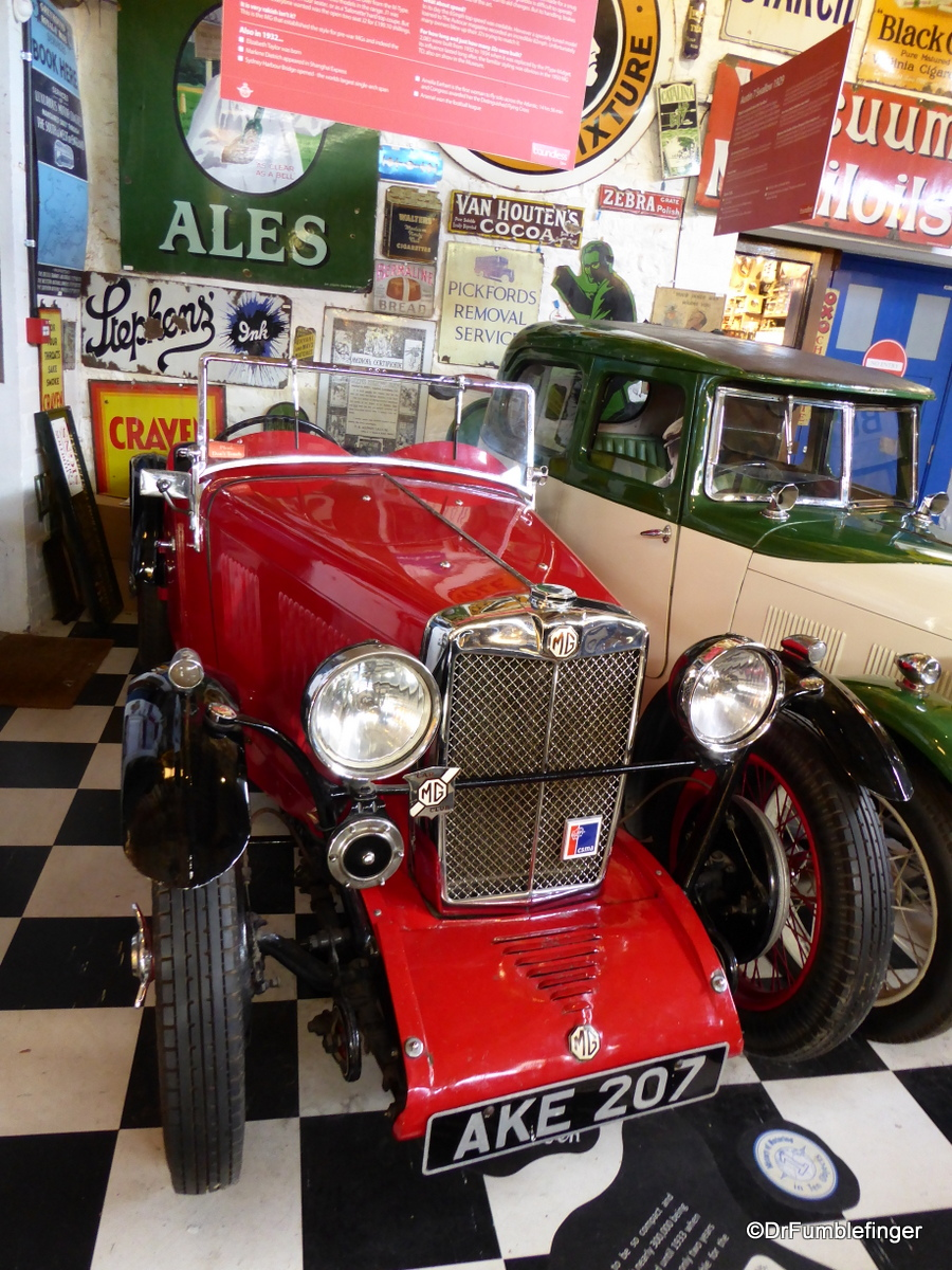 Cotswold Motoring Museum and Toy Collection. 1932 MG J2