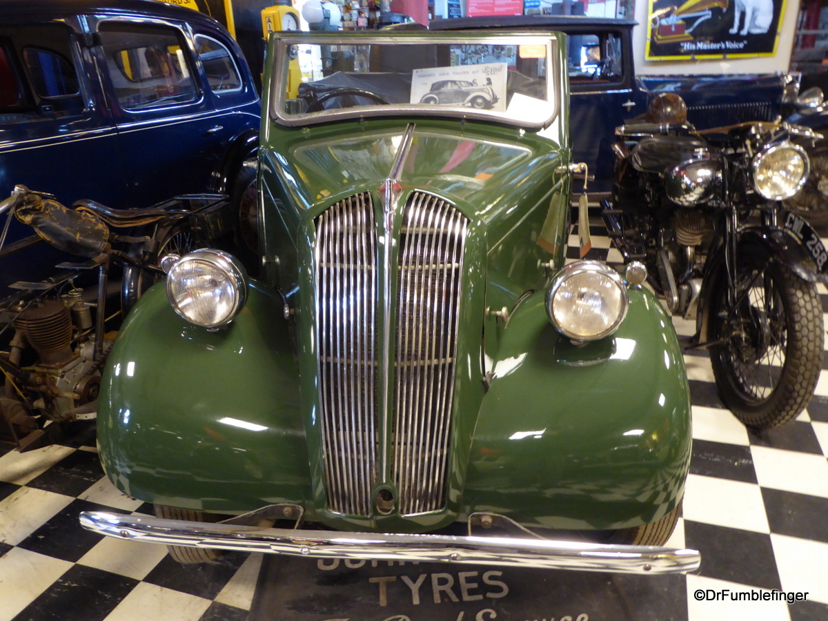 Cotswold Motoring Museum and Toy Collection. 1946 Standard 8