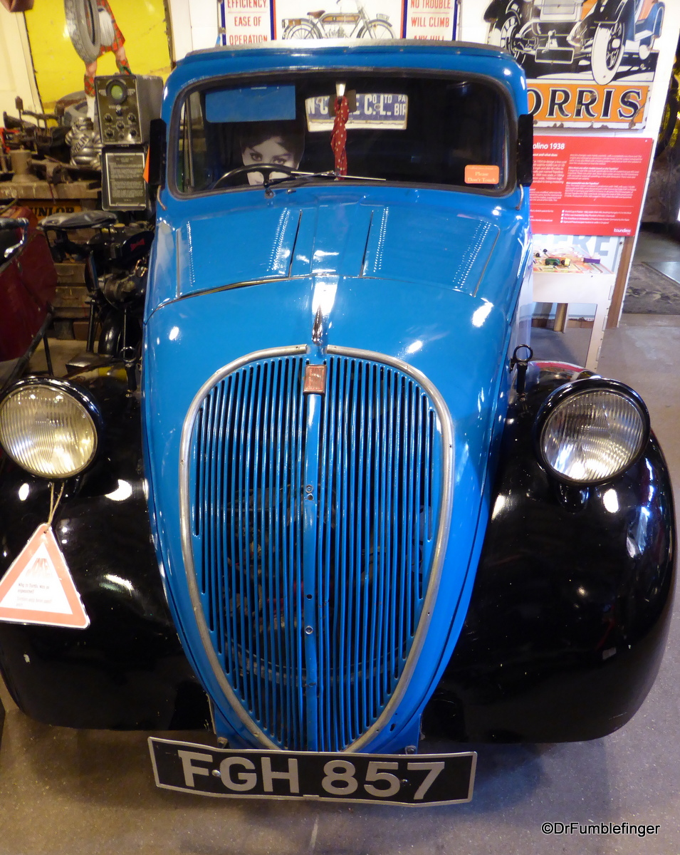 1Cotswold Motoring Museum and Toy Collection.  1938  Fiat 500 Topolino