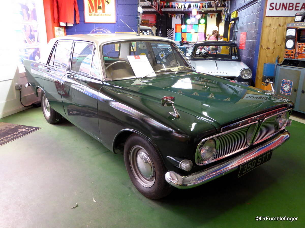 Cotswold Motoring Museum and Toy Collection.  1964 Ford Zephyr 6 MK3