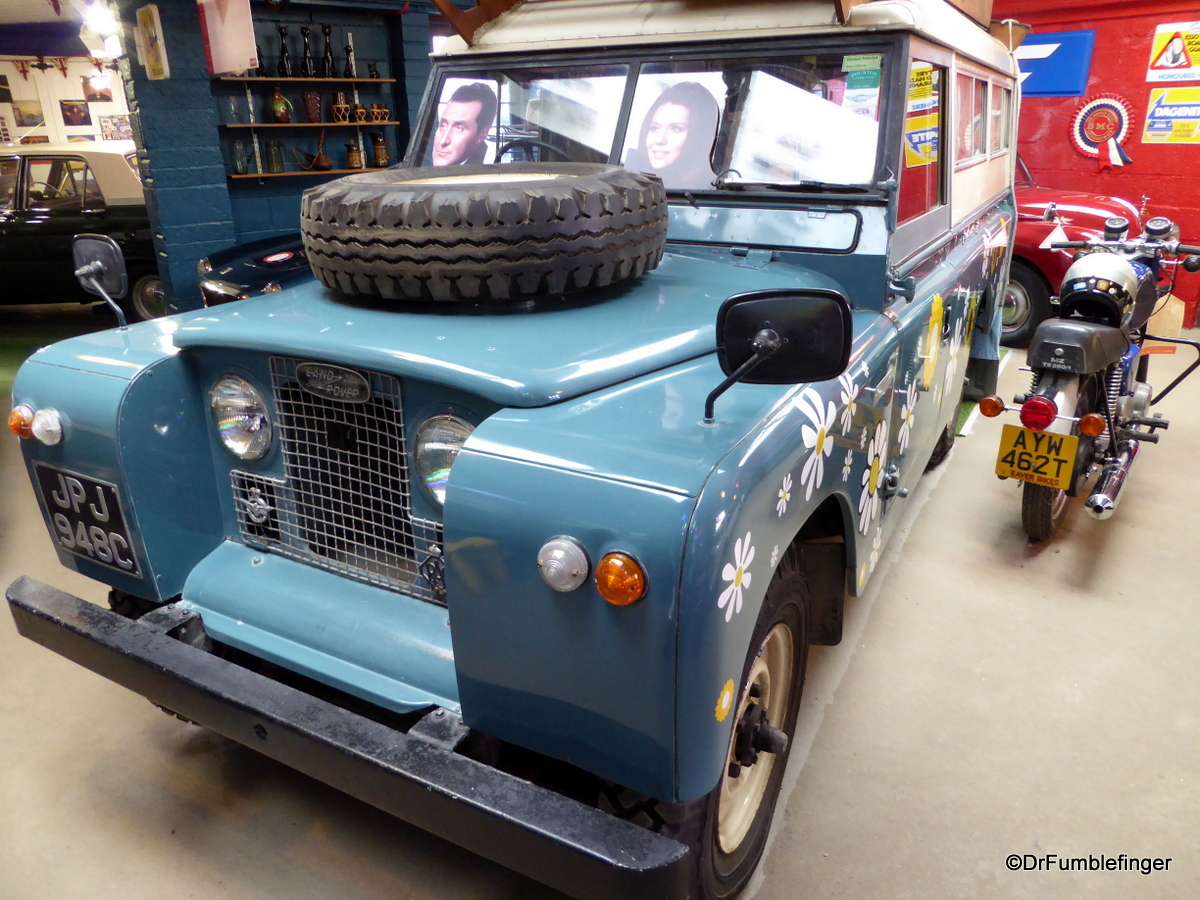 Cotswold Motoring Museum and Toy Collection.  Range Rover