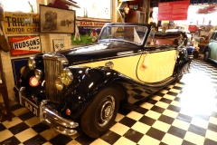 Cotswold Motoring Museum and Toy Collection.  1932 Jaguar MKV