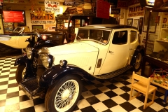 Cotswold Motoring Museum and Toy Collection.  1934 Riley Kestrel