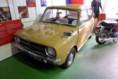 Cotswold Motoring Museum and Toy Collection.  1972 Mini Clubman