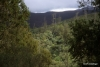 Distant view of rim of Shira plateau