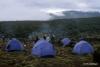 Camp on Shira plateau