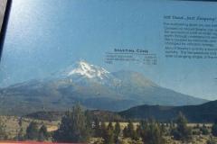 Information plaques, Mt. Shasta