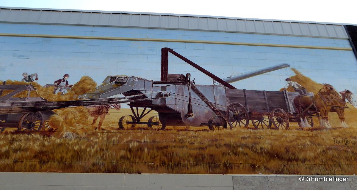 Moose Jaw, Saskatchewan.  Old Time Threshing Bee
