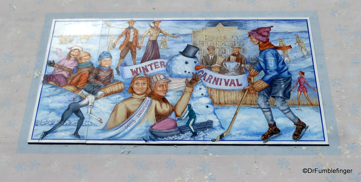 Moose Jaw, Saskatchewan.  Winter Carnival