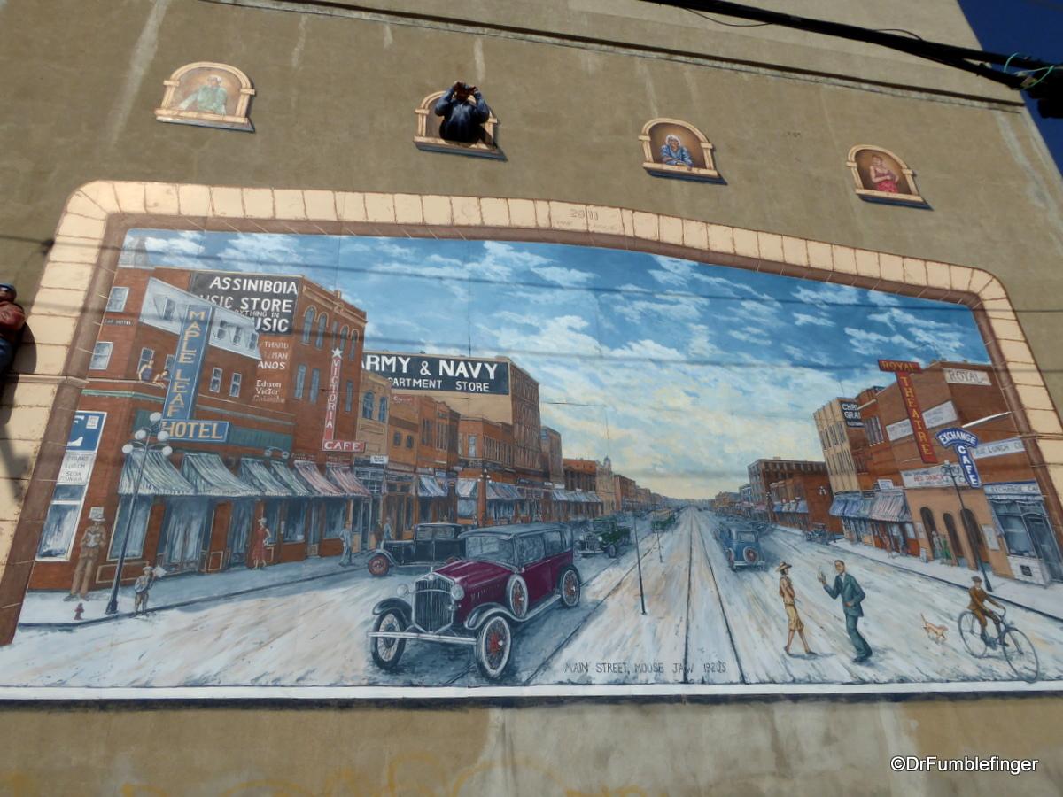 Moose Jaw, Saskatchewan.  Cruising Main Street (set in the 1920s)